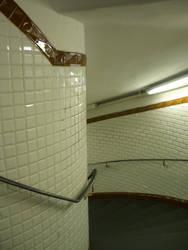 Stairs - Metro Paris by HedgehogTiger