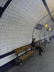 Metrostation Concorde - Paris by HedgehogTiger