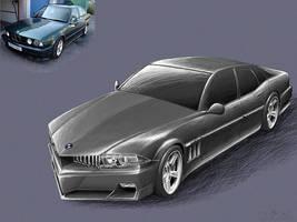 BMW 5-series concept by Kalasznikow47