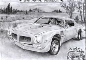 1972 Pontiac Firebird by Kalasznikow47
