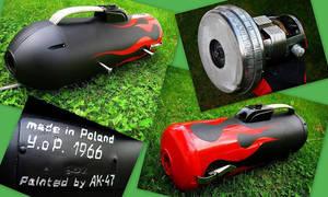 Oldskool vacuum cleaner by Kalasznikow47