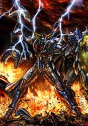 Goldrake - Destroy the Enemies by Aktarus-Artist