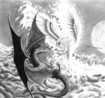 Mythic Battle by cjc7664