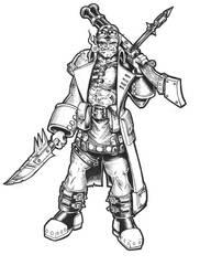Grothak Skullcleaver by BigFatTexta