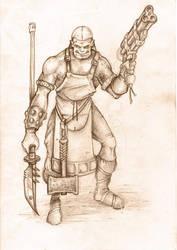 Ogrun Barbarian by BigFatTexta