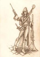 Thamarite Assassin by BigFatTexta