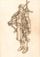 Paladin of Morrow by BigFatTexta