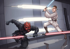 Star Wars - Duel of the Fates by diegodefreitas