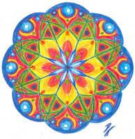 Mandala 4 by apocolocintos
