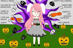 Happy halloween  love Silver by Cheshire-Maddie