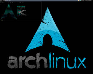 My Arch Linux Desktop by anonymous-bot