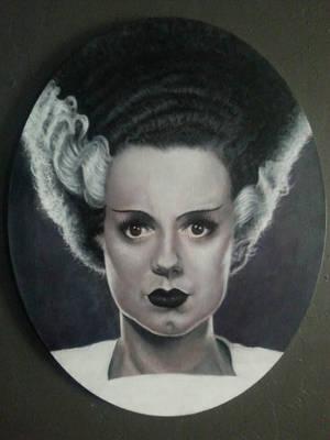 Bride of Frankenstein  by timscottart