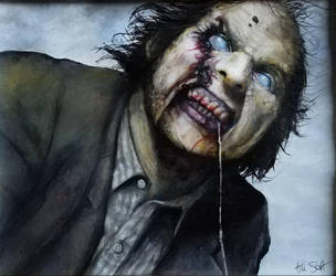 Night of the living dead  (1990) by timscottart