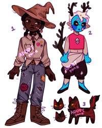 {OPEN} {SETPRICE} doodle adopts by panstarry
