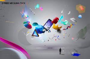 FREE Mr.Suma Element PSD PACK by MrSuma