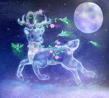 Starlight Deer by NazFro24-2