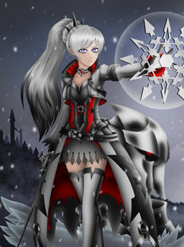 Black Frost Weiss by LobbyRinth