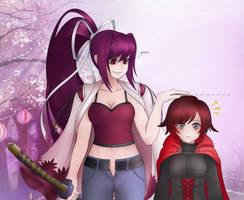 Ruby and Yuzu by LobbyRinth