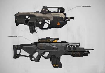 Guns2 by Nookiew
