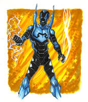 Blue Beetle by gravyboy
