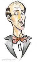 Pretentious Waiter Guy by gravyboy