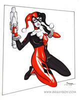 Big Gun Harley by gravyboy