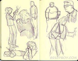 Stealth Sketching 1 by gravyboy