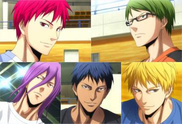 Kuroko no Basket Last Game (3) by gisel179620
