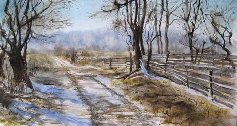 Last snow by Metttko