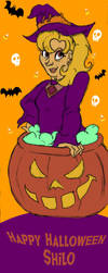 Halloween Shilo by Green-Ruby