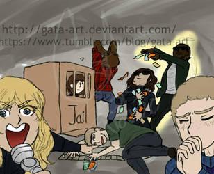 Agents of SHIELD MEME by Gata-Art