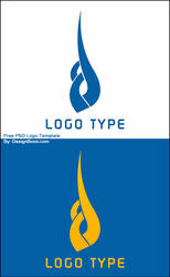 Artistic Logo Free PSD Template by mansy-graphics