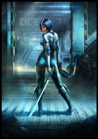 Huntress by AKIRAwrong