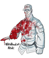 White Blood Cell Medic by DeathRage22