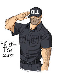 Killer T cell Soldier by DeathRage22
