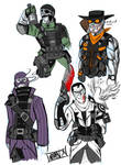 Deathrage  Tf2 Outfits by DeathRage22