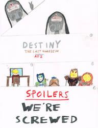 Destiny the Last Guardian Sneak Peek by t1m3fr3ak