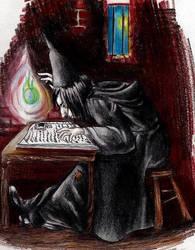 Teen Snape by firesprite