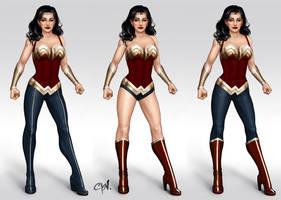 Wonder Woman Redesigns by cynthiafranca