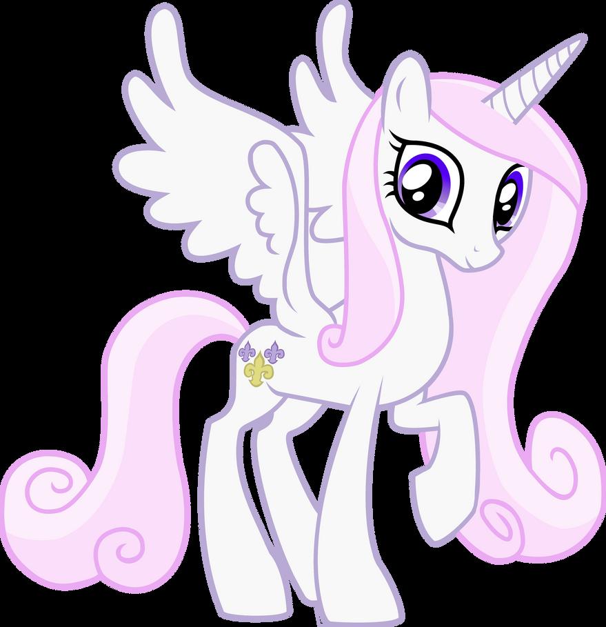 My Little Pony Color Swap Fleur De Lis Cadance By Happy125 On