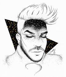 Adam Lambert - Zodiac Reflection by dojjU