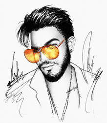 Adam Lambert - Shade Zone by dojjU