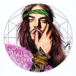Adam Lambert - Inner Bohemian by dojjU