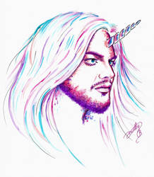 Adam Lambert - Unicorn by dojjU