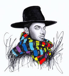 Adam Lambert - Wrapped In Rainbow by dojjU