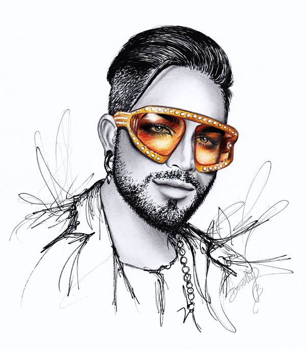 Adam Lambert - Pearl Shades by dojjU