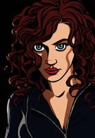Black Widow Iron Man 2 by Tallychyck