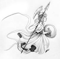 Athena by Super-Chi