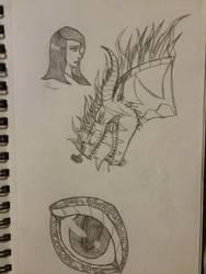 Recent Sketches by Astra-Phantom5654