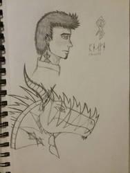 Sketch Page of Derek by Astra-Phantom5654